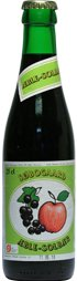Søbogaard Økologisk æble-solbær saft på 25 cl cafeflaske