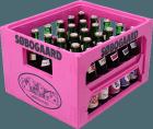 Søbogaard, kasse med saft