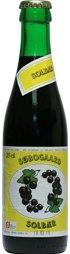 Søbogaard Økologisk Solbær saft på 25 cl cafeflaske