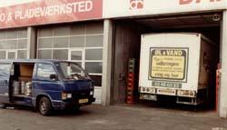 Peter skafte lager hos Dansk Rust formervangen glostrup