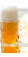 Fadølsglas 1 liter