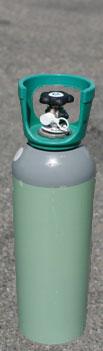 Kulsyreflaske 4 kg