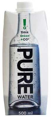 Pure Water vand uden pant i 0,5 L  i karton med skruelåg