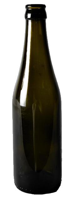Standard genpåfyldelig ølflaske uden pantmærke (det skal den ikke have)